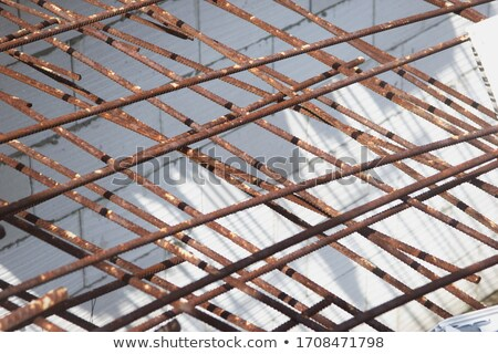 abstract of new home construction facade stock photo © feverpitch