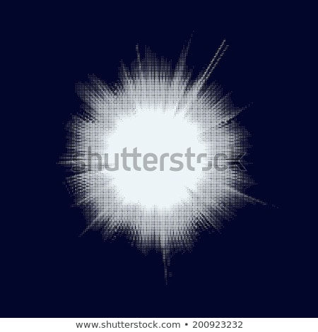 Halftoon star eps 10 vector Stockfoto © beholdereye