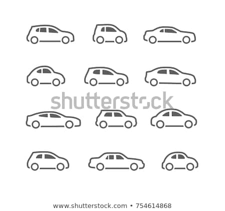 Suv 車 アイコン 実例 デザイン にログイン ストックフォト © kiddaikiddee