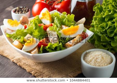 huevo · ensalada · frescos · casero · preparado · mayonesa - foto stock © digifoodstock