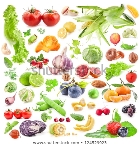 fruits and vegetables big collection stock photo © voysla