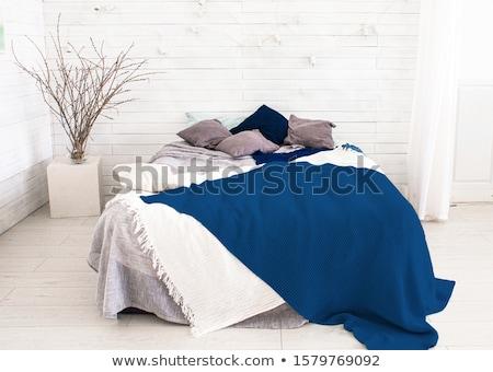Blue pillow Stock photo © bluering
