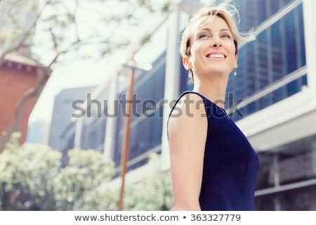 Woman Walking Ahead Stock photo © filipw
