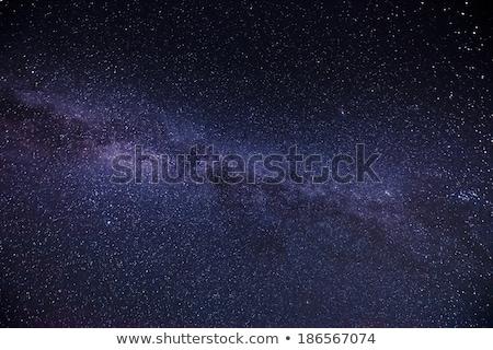 Ciel de la nuit plein star visible laiteux façon Photo stock © zurijeta