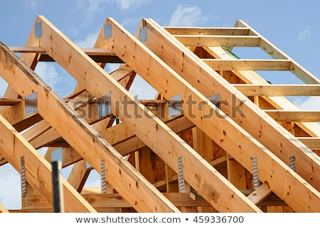 Wooden roof structure Stock photo © simply