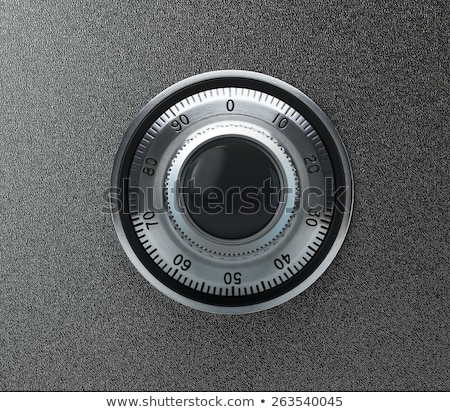 Safe lock. Close-up. 3D Illustration Stock photo © cherezoff