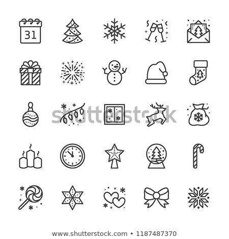 дизайна · снега · льда · звездой - Сток-фото © vectorikart