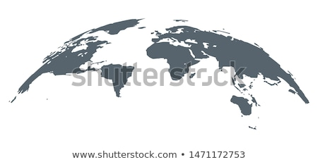 An infographics of the Earth Stock photo © bluering