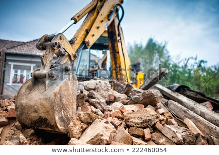 demolition house stock photo © nemalo