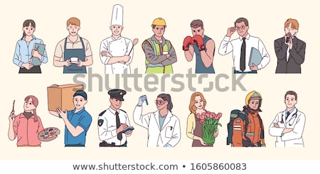 Characters in various professions stock photo © Lukas101