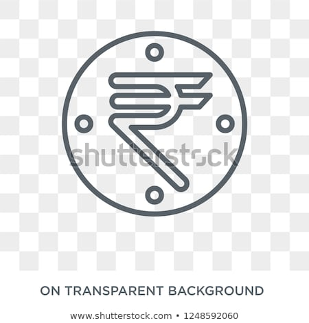 New Indian Rupee 500 Currency Note and Mobile Banking Stock photo © Akhilesh