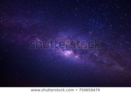 Сток-фото: галактики · звезды · небе · ночь · звездой · облаке