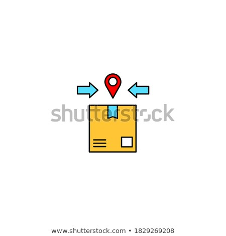 Colored buttons bounding box stock photo © Zela