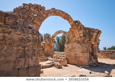 стены древних руин крепость солнце день Сток-фото © ssuaphoto