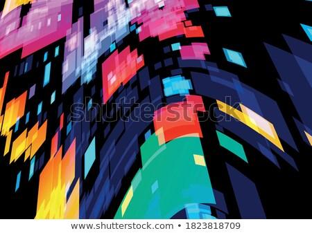 透明な · 光 · 効果 · スタイル · 火災 - ストックフォト © SArts
