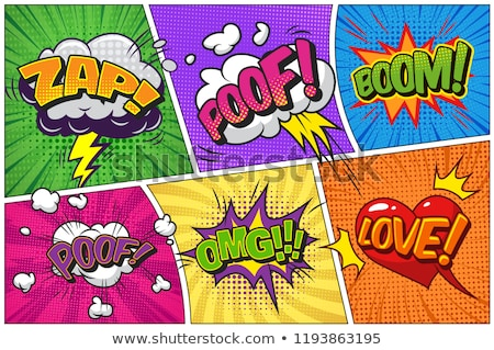 zap comic word Stock photo © studiostoks