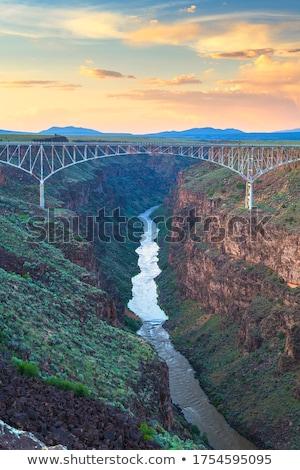Rio Grande Gorge Bridge Taos New Mexico USA Stock photo © Qingwa