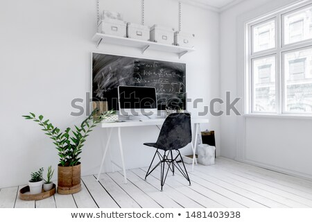 small chalkboard with be creative 3d render stock photo © tashatuvango