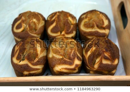 people eating applecake with basket stock photo © is2