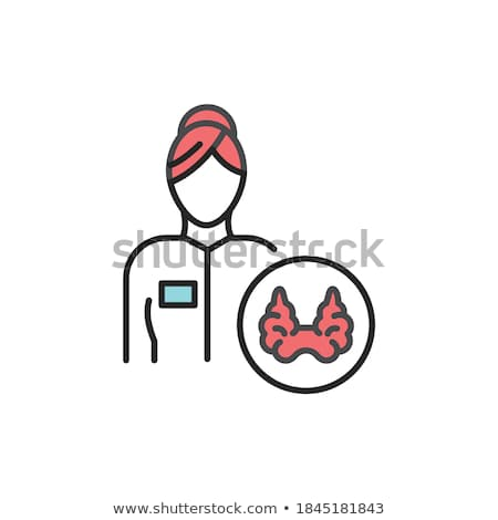 Doctor vector color illustration clip-art web art simple stock photo © vectorworks51