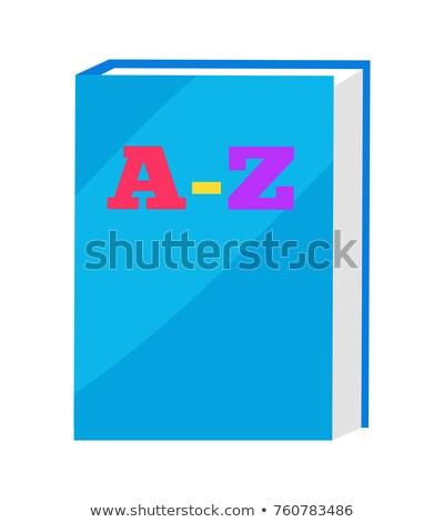 decken · Buch · Vorlage · vertikalen · Design-Vorlage · Vektor - stock foto © robuart