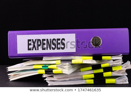 Sort Index Card  Expenses. Stock photo © tashatuvango