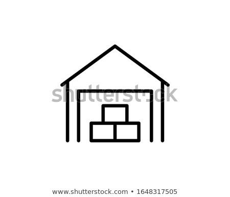 logistica · design · stile · illustrazione · alto · qualità - foto d'archivio © studioworkstock