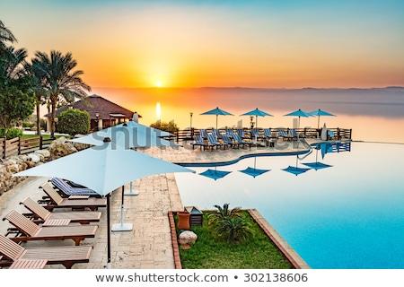 Stock fotó: Luxus · tenger · tengerpart · víz · sivatag · hegy