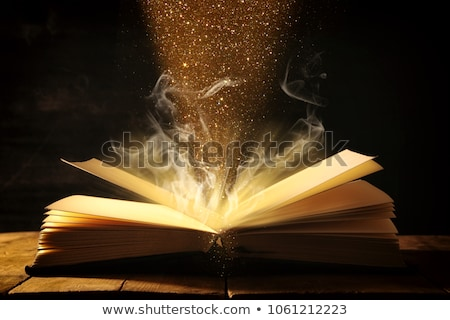 ancient book, religion, fairy tale and literature Stock photo © rogistok