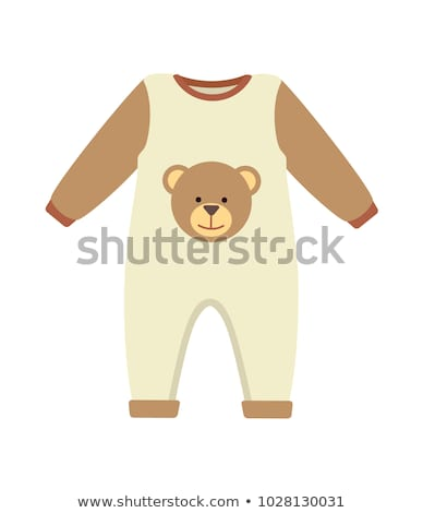 Baby Clothes Romper Poster Vector Illustration Stock photo © robuart