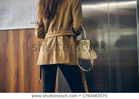 女性 エレベーター 実例 金属 サービス 高速 ストックフォト © adrenalina