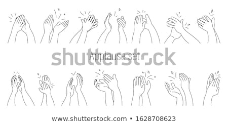 Dancing man hand drawn outline doodle icon. Stock photo © RAStudio