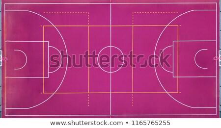 мнение баскетбольная площадка баскетбол матча Сток-фото © artjazz