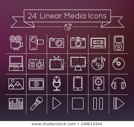 online · Kommunikation · hellen · linear · Mail - stock foto © robuart
