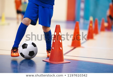 футболист · подготовки · Футбол · спортивных - Сток-фото © matimix