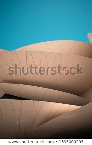 House with flag of qatar Stock photo © MikhailMishchenko
