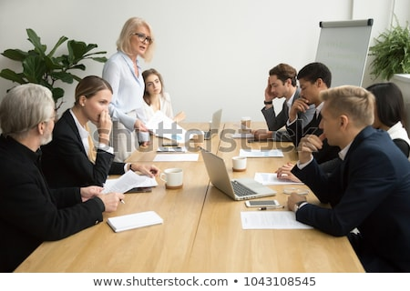Business Meeting and Dismissal of Worker in Office Stock photo © robuart