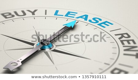 Rent, Buy or Lease a car or an Equipment. Stock photo © olivier_le_moal