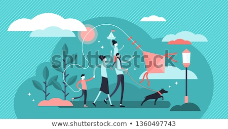 Family tradition concept vector illustration. Stock photo © RAStudio
