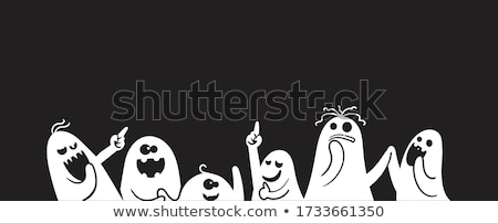 Cartoon · fantasía · grupo · ilustración · feliz - foto stock © izakowski