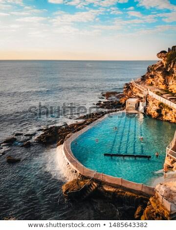 日の出 · オーストラリア · 東部 · シドニー · 空 · 水 - ストックフォト © lovleah