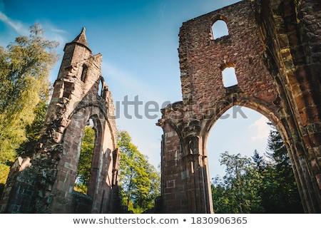 древних монастырь красивой внешний старые Церкви Сток-фото © Anna_Om