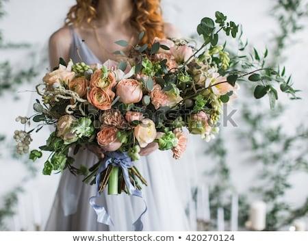 bruiloft · planning · bruid · bruidegom · newlywed · paar - stockfoto © robuart