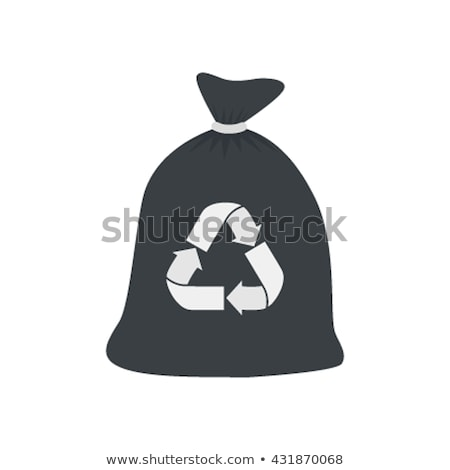 Pollution and Recycling, Garbage Bags Web App Stock photo © robuart