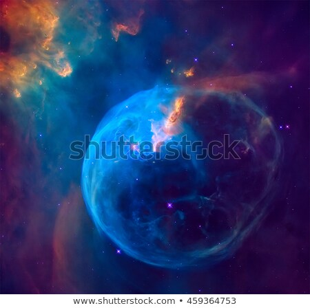 The Bubble Nebula in the constellation Cassiopeia. Stock photo © NASA_images