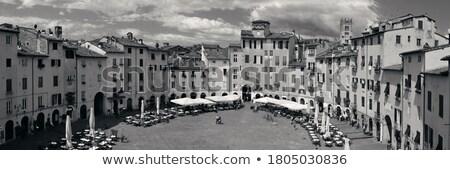 Piazza Anfiteatro, Lucca, Italy Stock photo © borisb17