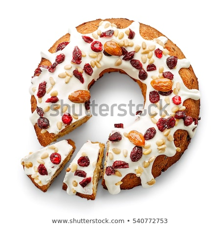 Traditional Easter cake with topping Stock photo © furmanphoto