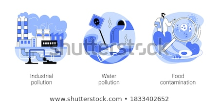 Toxic waste vector concept metaphor Stock photo © RAStudio