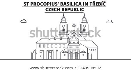 Foto stock: Gótico · basílica · mosteiro · República · Checa · unesco
