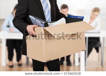 Resign From Job Or Fired Employee Stock photo © AndreyPopov